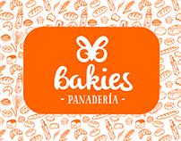 Bakies Bakery Branding and Packaging