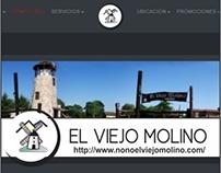 Diseño de Sitio Web El Viejo Molino