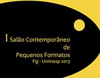 #Gráfico - I Salão Contemporâneo de Pequenos Formatos
