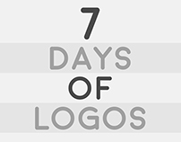 7 Days of Logos / 7 Días de Logos