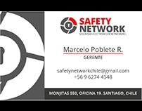 Tarjeta de presentación Safety Network