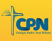 Redesign da logo. Colégio Padre José Nilson