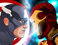 Civil War - (Capitan America vs Iron Man)