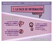 Infografía Informe CEDAW Ecuador