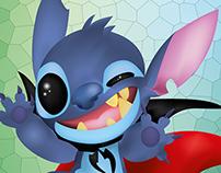 Stitch ilustración