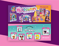 webdesign, banners, design, hairdorables