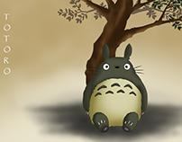 Mi vecino Totoro (Redrawing)