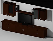Modelado y Render Basico. Muebles