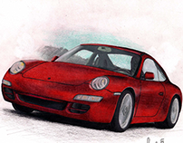 Illustrations of cars