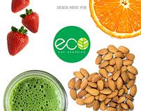 Menú para Eco | Bar Orgánico