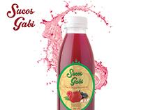 Sucos Gabi | Design de Embalagem