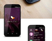 InMusic Android Application User Interface