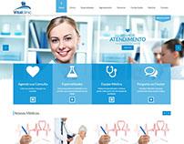 Site Institucional - VitalClinic