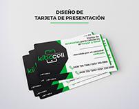 Diseño de Tarjeta de Presentación para KiboCell