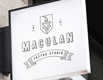 Maculan Tattoo Studio | Proposta de Identidade Visual