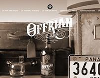 Construcción, maquetación de Sitio Web para Offriam Rum