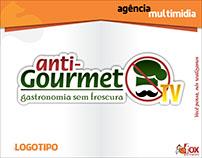 Logotipo e Redes Sociais AntiGourmetTv