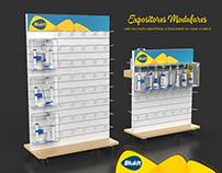 Projeto de Expositores modulares personalizáveis
