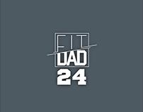 Logotipo FitDad24