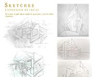 Bosquejos - Sketchers. INFOGRAFÍA