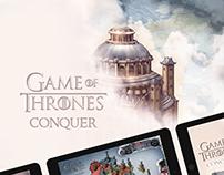 GOT - iPad Game Concept