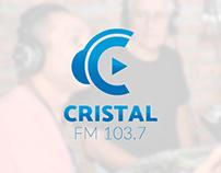 FM CRISTAL 103.7MHz | Branding Corporativo