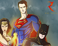 Justice League - Fan Art