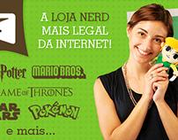 Loja Quarto Geek - Banners