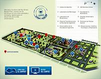 Campus Universidad Austral • Infographic Illustration