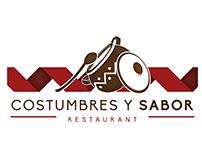 Logotipo - Costumbres y Sabor Restaurant