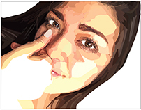 Vector Self Portrait on Adobe Illustrator