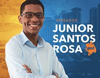 Campanha Política   Vereador Junior Santos Rosa