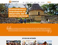 CANATUR - Rediseño de sitio web
