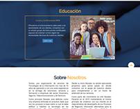 Landing Page Novatec