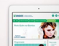 Site Institucional do BNDES