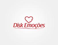 Redesign Logo Disk Emoções