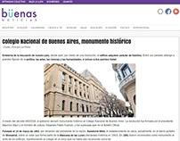 Colegio Nacional de Buenos Aires, monumento histórico