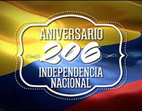 Aniversario 206 Independencia de Colombia