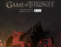Game of Thrones - Unofficial season 4 posters