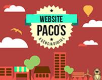 Projeto Web Site Paco´s Agência Digital