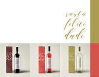 Vinhos Santa Felicidade - Edição Especial - Redesign