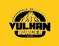Logo Design - Vulkan Burger