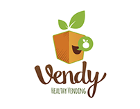 Create a Healthy Vending Machine Business Logo