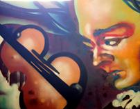"""""""Live Painting"""" Presentación Video Casa & Calle"""