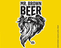 Cerveza MR. BROWN