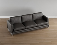 3D Decora Sofa + Wardrobe