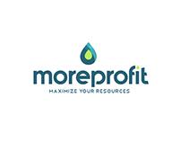 Identidad: Logo Moreprofit