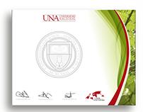 Material gráfico Estudiantes Distinguidos  UNA