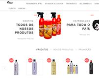 E-commerce - Produtos de Beleza.