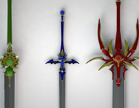 Magic Knight Rayearth - Swords